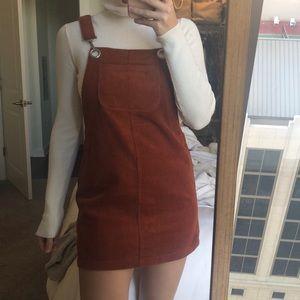 Overall Dress Rustic Orange